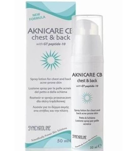 AKNICARE CB CHEST & BACK 50ml