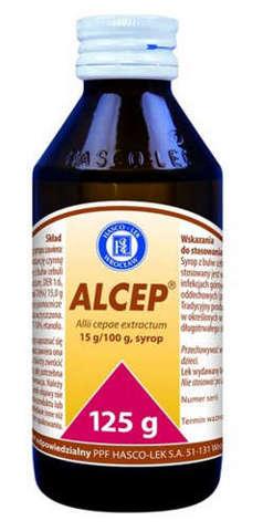 ALCEP syrop 125g