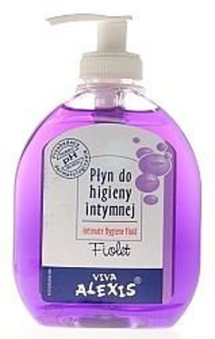 ALEXIS Płyn do higieny intymnej 200ml fioletowy