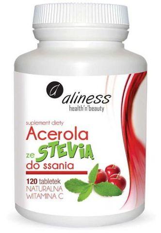 ALINESS Acerola ze Stevią x 120 tabletek do ssania