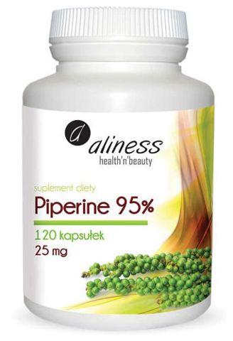 ALINESS Piperine 95% 25mg x 120 kapsułek