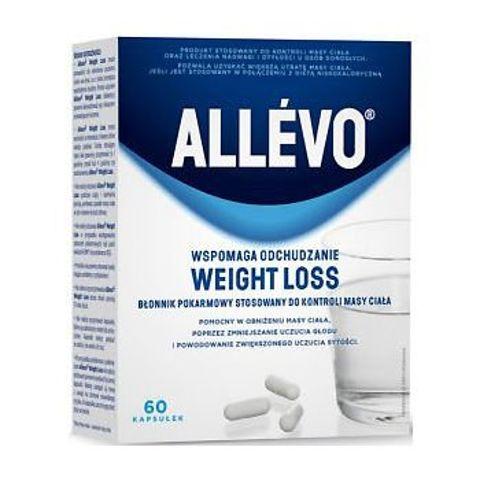 ALLEVO Weight Loss Błonnik pokarmowy x 60 kapsułek