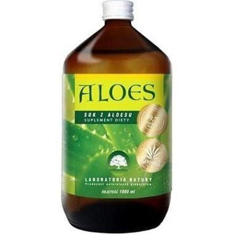 ALOES 99,7% czystego soku z aloesu 1000ml