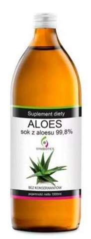 ALOES Sok z aloesu 99,8% płyn 1000ml