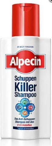 ALPECIN Schuppen Killer szampon przeciwłupieżowy 200ml