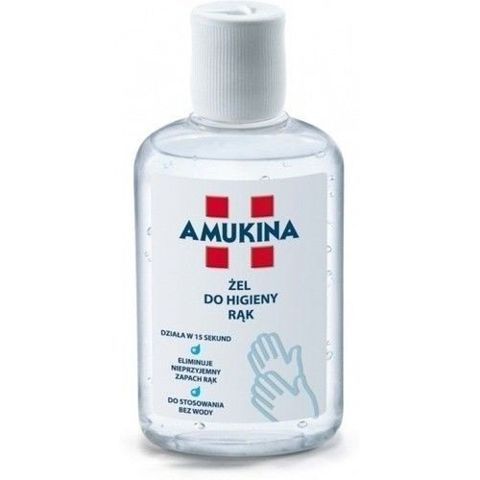 AMUKINA żel do higieny rąk 80ml