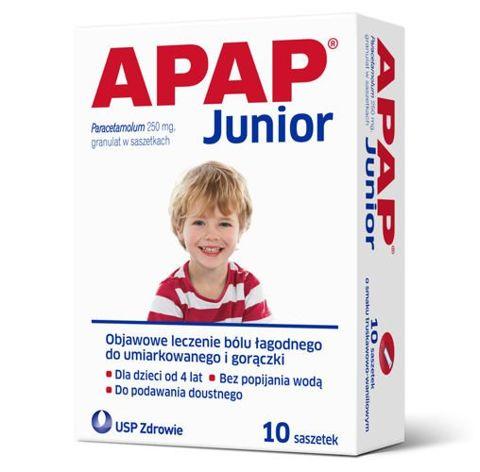 APAP Junior x 10 saszetek