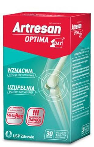 ARTRESAN OPTIMA 1 A Day x 30 tabletek