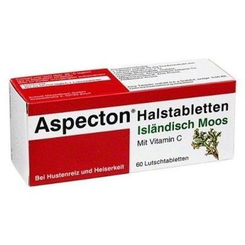 ASPECTON NA GARDŁO x 30 tabletek do ssania smak anyżu
