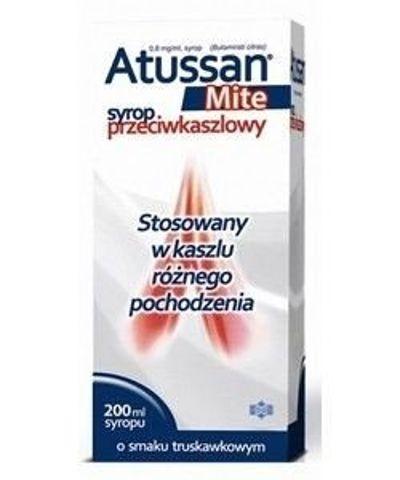 ATUSSAN MITE syrop 0,8mg/ml 200ml