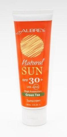 AUBREY Mleczko do opalania SPF30 z wyciągiem z zielonej herbaty 118ml