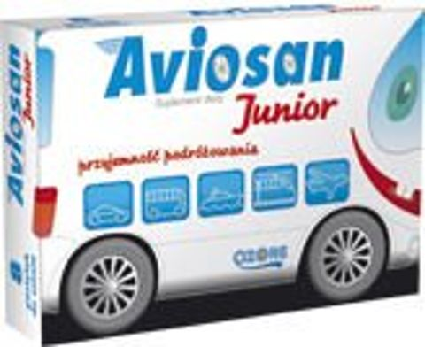 AVIOSAN Junior x 8 pastylek do ssania