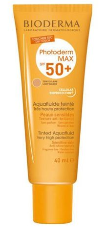 BIODERMA Photoderm MAX AquaFluide SPF50+ jasny 40ml