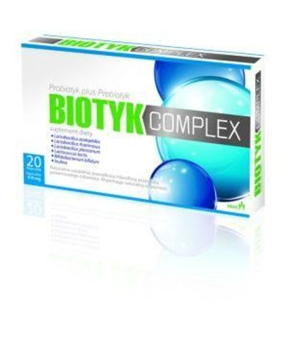 BIOTYK COMPLEX x 20 kapsułek