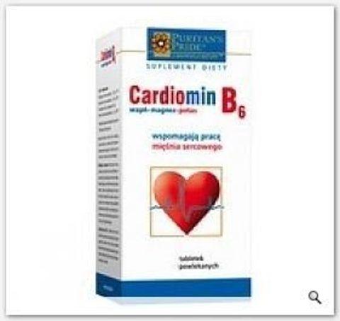 CARDIOMIN B6 x 30 tabletek