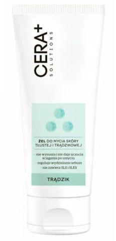 CERA+ Solutions żel do mycia dla skóry trądzikowej 200ml