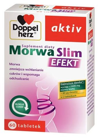 DOPPELHERZ Aktiv Morwa Slim Efekt x 60 tabletek