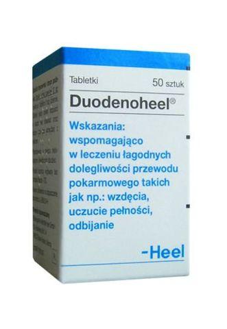 DUODENOHEEL x 50 tabletek