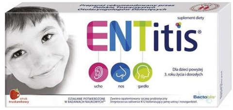 ENTitis x 14 pastylek do ssania