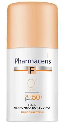 ERIS Pharmaceris F Fluid matujący 01 Ivory SPF20 30ml