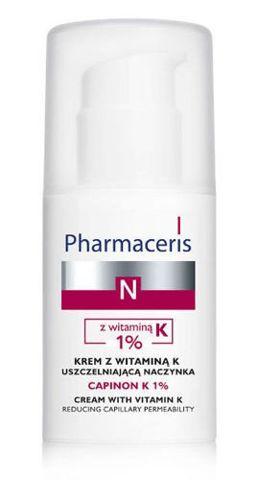 ERIS Pharmaceris N CAPINON K 1% krem z witaminą K uszczelniająca naczynka 30ml