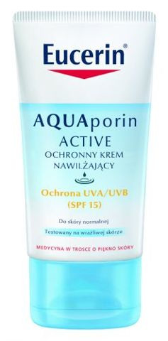EUCERIN AQUAporin ACTIVE Ochronny krem nawilżający 40ml