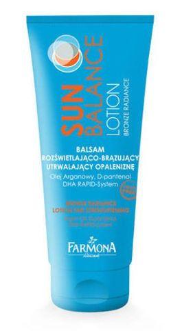 FARMONA Sun Balance Balsam rozświetlająco-brązujący utrwalający opaleniznę 200ml