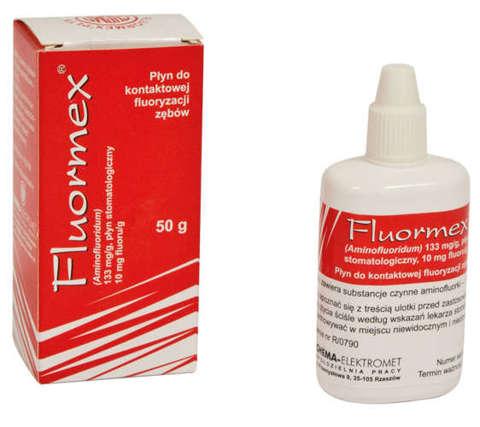 FLUORMEX płyn stomatologiczny 50 ml