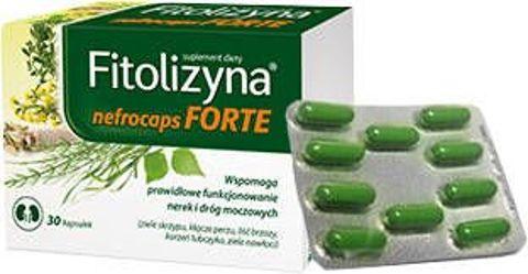 Fitolizyna nefrocaps FORTE x 30 kapsułek