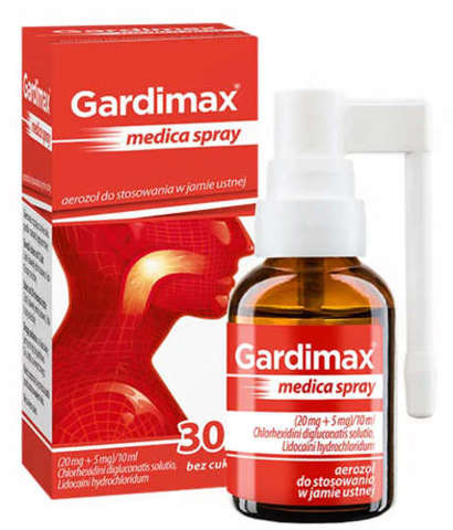 GARDIMAX MEDICA Spray 30ml