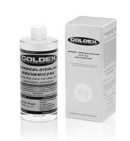 GOLDEX Srebro Nanokoloidalne niechemiczne 500ml