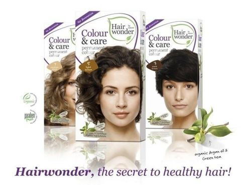 HAIRWONDER Colour & Care Farba do włosów 4-MEDIUM BROWN 100ml