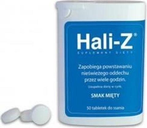 HALI-Z smak mięty x 50 tabletek do ssania
