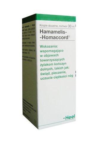 HAMAMELIS HOMACCORD krople 30ml