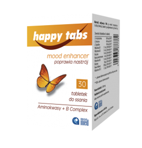 HAPPY TABS x 30 tabletek do ssania