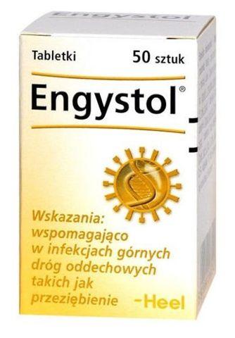 HEEL Engystol x 50 tabletek