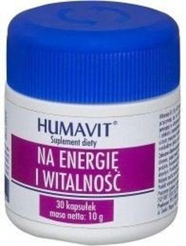 HUMAVIT Na Energię i Witalność x 30 kapsułek