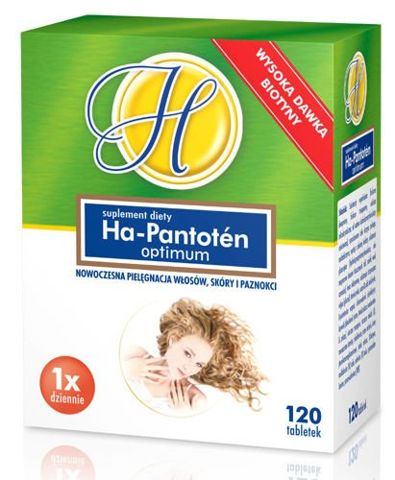 Ha-Pantoten Optimum x 120 tabletek