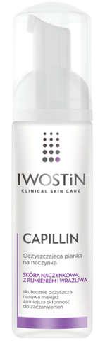 IWOSTIN Capillin Oczyszczająca pianka na naczynka 165ml