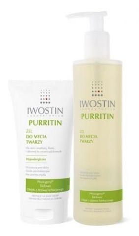 IWOSTIN Purritin żel do mycia twarzy 300ml