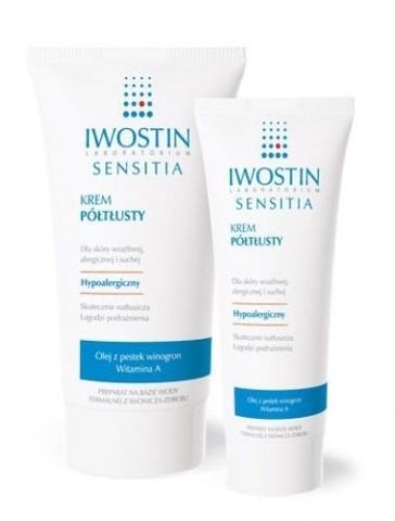 IWOSTIN Sensitia krem półtłusty 150ml