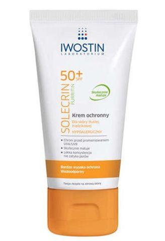 IWOSTIN Solecrin Purritin SPF50+ krem ochronny 50ml