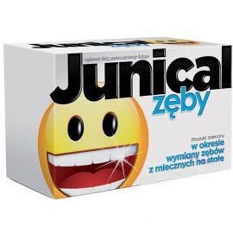 Junical Zęby x 30 tabletek do ssania