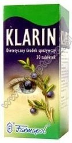 KLARIN x 30 tabletek