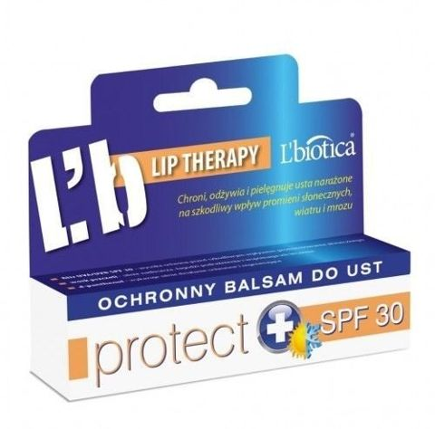 L'BIOTICA Ochronny balsam do ust PROTECT SPF30 10ml