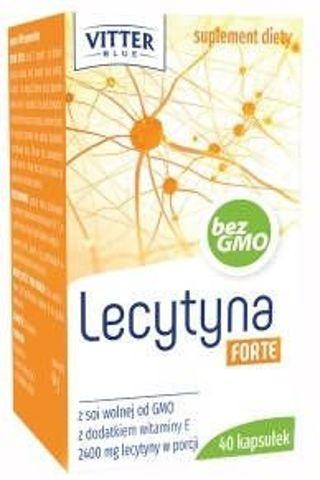 LECYTYNA + WITAMINA E FORTE x 40 kapsułek