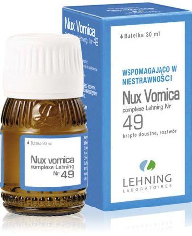 LEHNING Nux vomica Complexe Nr 49 krople 30ml