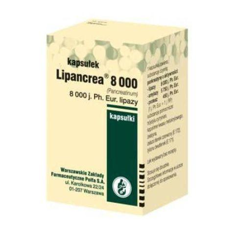 LIPANCREA 8000 x 50 kapsułek