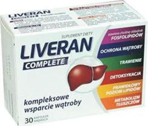 LIVERAN COMPLETE x 30 kapsułek