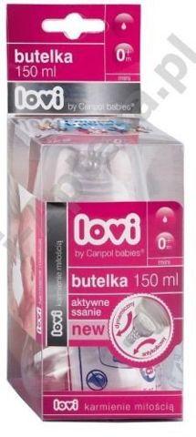 LOVI Butelka Aktywne ssanie BPA 0% 150ml 21/565